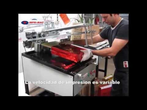 Maquina de serigrafia para imprimir bolsas www.impri-maq.com.ar