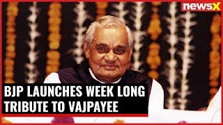 As PM Narendra Modi turns 68 today, BJP launches week long tribute to Vajpayee - NEWSXLIVE