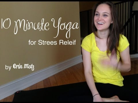 10 Minute Yoga for Stress Relief