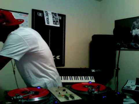 DJ Q45 FROM B.E.T SCRATCHING AN MIXING RNB FAV'S RYAN LESLIE & LlOYD  PART 2