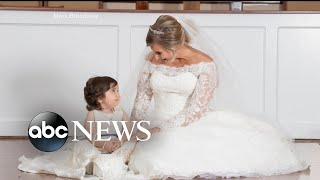 Toddler is flower girl at bone marrow donor's wedding - ABCNEWS