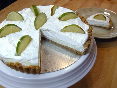 No Bake Key Lime Pie from Scratch Recipe Laura Vitale Laura In The Kitchen Episode 58