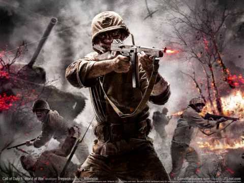 Call of Duty World at War OST - Multiplayer - Wehrmacht vs Red Army Spawn