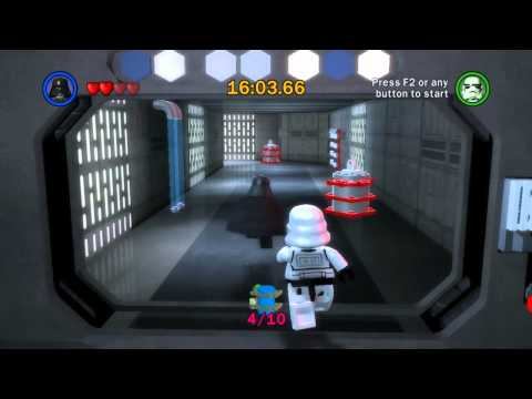 Let s Play Lego Star Wars The Complete Saga Ep 4 Ch 5 Death Star Escape Challenge