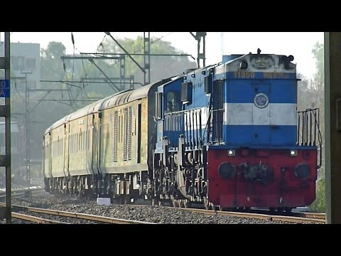 Ever Aggressive SC-LTT Duronto thrashes Kasarwadi with a Gooty WDM-3D!