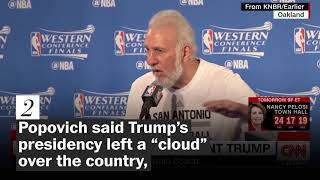 'A soulless coward': Four times Spurs coach Gregg Popovich has criticized Trump - WASHINGTONPOST