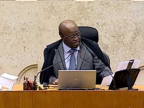 Pleno - Ministro Joaquim Barbosa anuncia sua saída do STF
