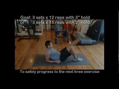 Knee Pain Exercises 3 - Exercise to Prevent Knee Problems