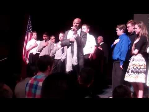 Alex Boye Performs the National Anthem After Becoming a U.S. Citizen