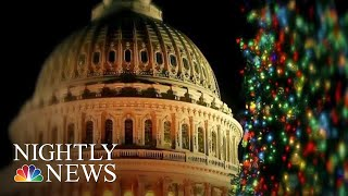 Government Stuck In Shutdown Stalemate Over Border Wall Funding | NBC Nightly News - NBCNEWS
