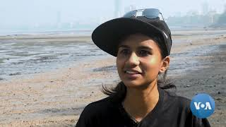 In Mumbai, Community-led Efforts Help Reclaim City Beaches - VOAVIDEO