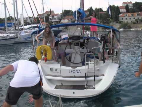 Adriatic Sea Sailing in Croatia (Milna to Maslinica)