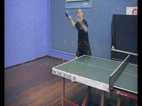 Table Tennis - Forehand Smash