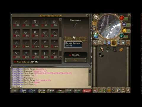 Runescape update #3 Done with dungeoneering! ~Sxxy Zone