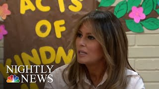 Melania Trump Makes Unannounced Visit To Texas Amid Family Separation Crisis | NBC Nightly News - NBCNEWS