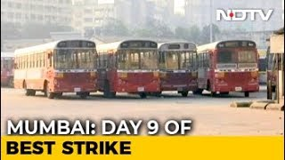 No End To Commuter Woes As Mumbai Bus Strike Enters Ninth Day - NDTV