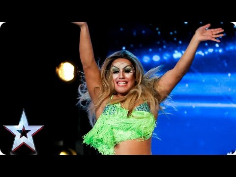 Sassy Sanita Laviva shakes up a storm on stage | Auditions Week 3 | Britain's Got Talent 2017