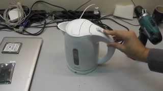 Ремонт чайника год спустя - подробное видео