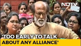 """""""Ready For Anything"""": Rajinikanth's Take On 2019 General Elections - NDTV"""