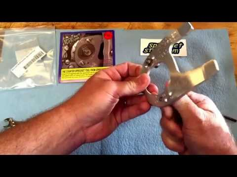 SprocketStuff.com Counter Sprocket Tool for Removal and Install