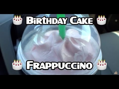 Starbucks Happy Birthday Frappuccino Taste Test Review