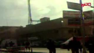 اتفرج انفجار قنبلة أمام قسم شرطة سوهاج