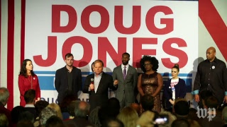 Doug Jones hosts rally on eve of Alabama Senate election - WASHINGTONPOST