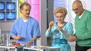 Елена Малышева об ультразвуковой щетке
