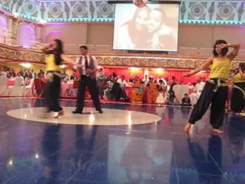 Sinu and Sajini's Engagement Dance