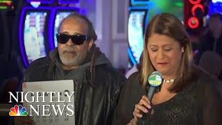 Lottery Winner Comes Forward In New York | NBC Nightly News - NBCNEWS