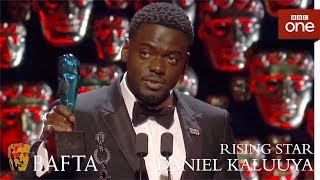 Daniel Kaluuya wins the EE Rising Star BAFTA - The British Academy Film Awards: 2018 - BBC One - BBC