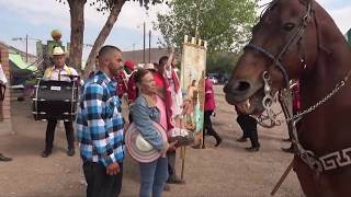 Fiestas patronales en Ermita de los Correa (Jerez, Zacatecas)