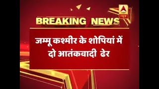 2 terrorists killed in encounter in J&K's Shopian - ABPNEWSTV