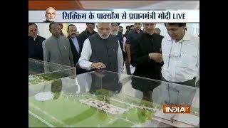 PM Modi inaugurates Pakyong Airport near Gangtok in Sikkim - INDIATV