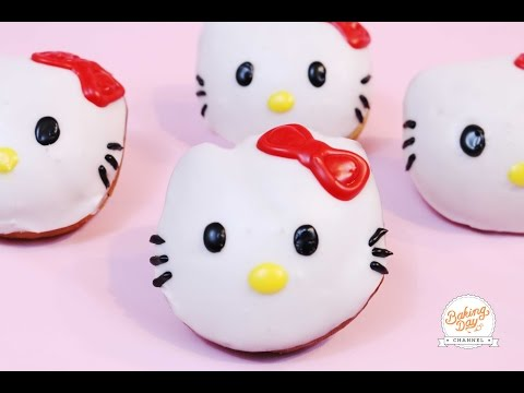 DONAS DE HELLO KITTY - BAKING DAY