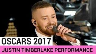 Justin Timberlake 'Can't Stop The Feeling' Performance (OSCARS 2017) - HOLLYWIRETV