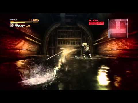 Metal Gear Rising: Revengeance - Boot Camp 2012 Mafutisu Gameplay