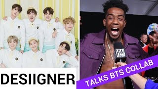 Desiigner Talks BTS And Steve Aoki Collaboration - HOLLYWIRETV