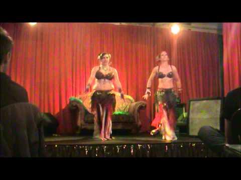 TribalDiva Belly Dance Company - 'Booty Swing' Tribal Fusion Duet