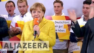 German election campaigning ends ahead of vote - ALJAZEERAENGLISH