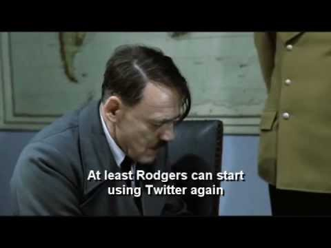 Hitler reacts to the Green Bay Packers losing to the New York Giants in the 2012 Divisional Playoffs