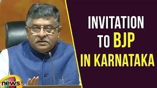 Invitation to BJP in Karnataka within constitutional norms, says Ravi Shankar Prasad | Mango News - MANGONEWS