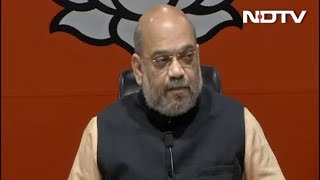 अमित शाह बोले- सैम पित्रोदा के बयान पर राहुल गांधी मांगें देश से माफी - NDTVINDIA