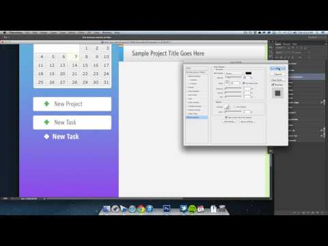Designing an Application in Photoshop - Part 03