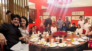 Nagarjuna Akkineni And Amala Wedding Anniversary Celebrations With Family Members - RAJSHRITELUGU