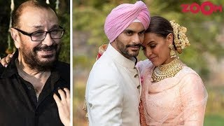 Neha Dhupia's Father Clears The Air On The Pregnancy Rumours Before Her Marriage With Angad Bedi - ZOOMDEKHO