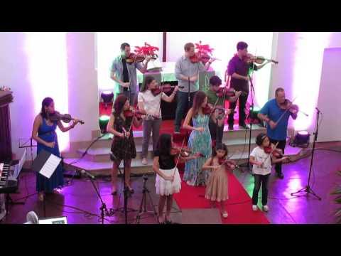 Apresentação de Violino - Igreja Luterana da Tijuca