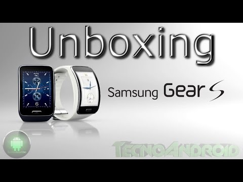 Samsung Galaxy Gear S unboxing e prima accensione