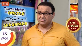 Taarak Mehta Ka Ooltah Chashmah - Ep 2451 - Full Episode - 23rd April, 2018 - SABTV