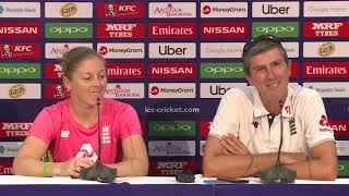 England captain Heather Knight speaks ahead of the ICC WWC T20 semi finals - CRICKETWORLDMEDIA